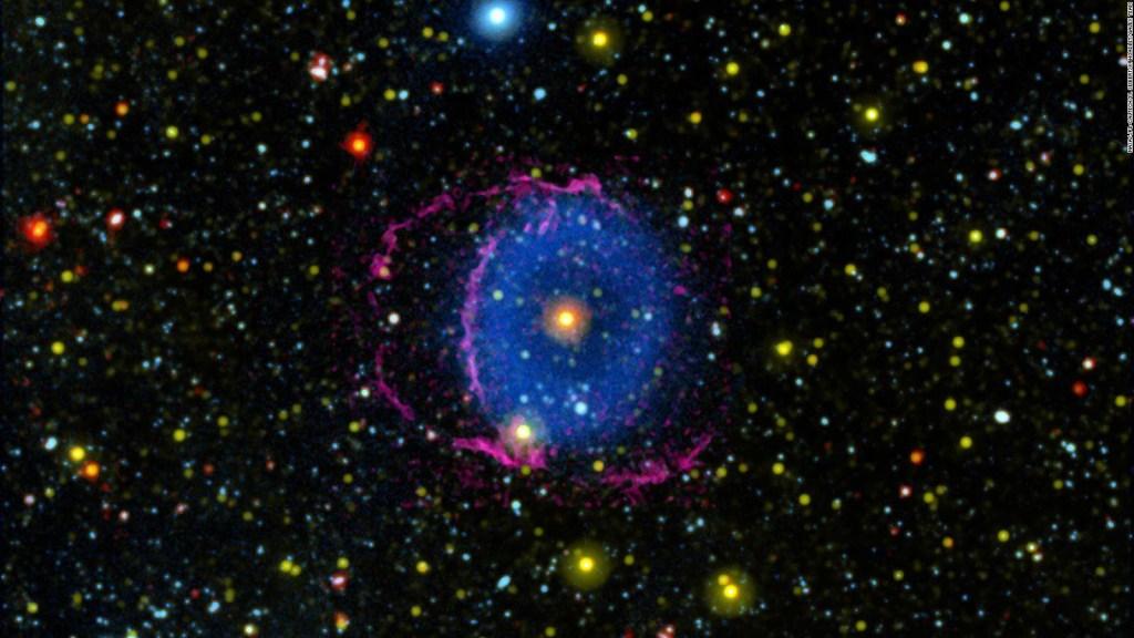 Resuelven el misterio de la Nebulosa del Anillo Azul