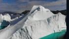 Glaciares se derriten rápido en Groenlandia