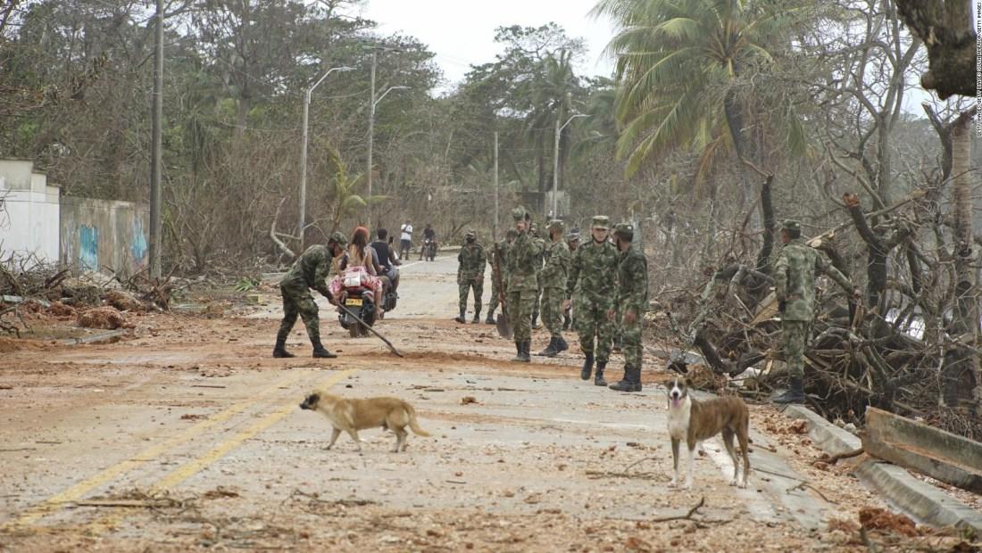 El testimonio de un residente de isla golpeada por Iota