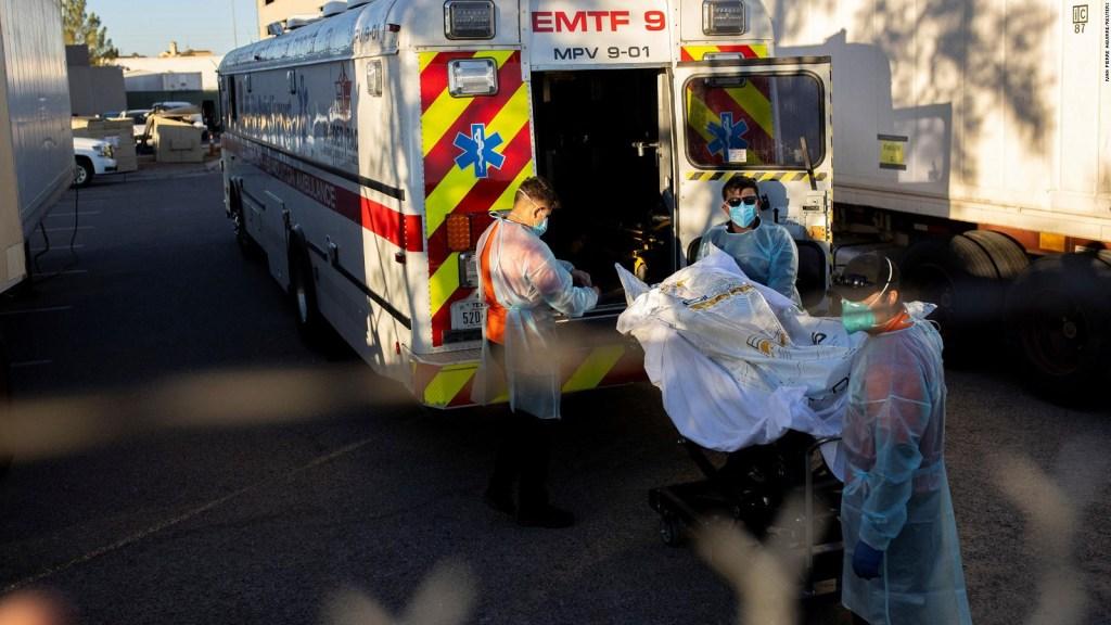Pronostican 471.000 muertes para marzo en EE.UU.