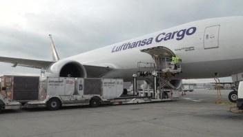 Lufthansa y el desafío de distribuir vacunas de covid-19 en frío