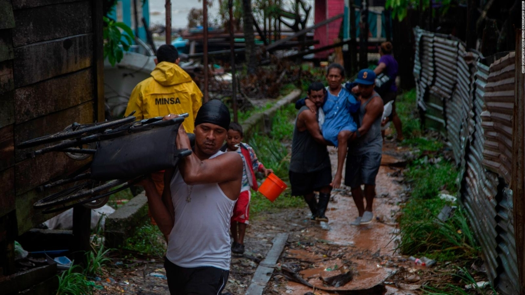 Iota: preocupa el contagio de covid-19 en refugios de Nicaragua