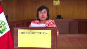 ¿Se lavó las manos el Tribunal Constitucional de Perú?