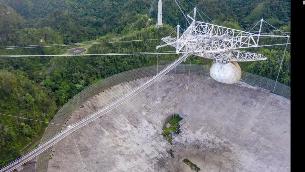 Llega a su fin un famoso e importante telescopio