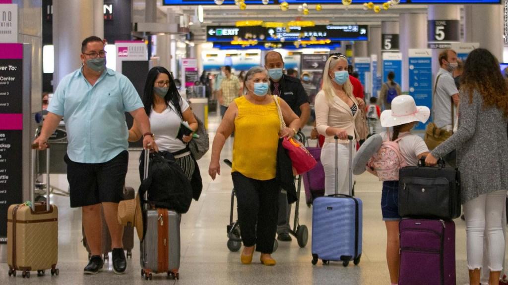 Más de 1 millón de viajeros aéreos en un día en EE.UU.