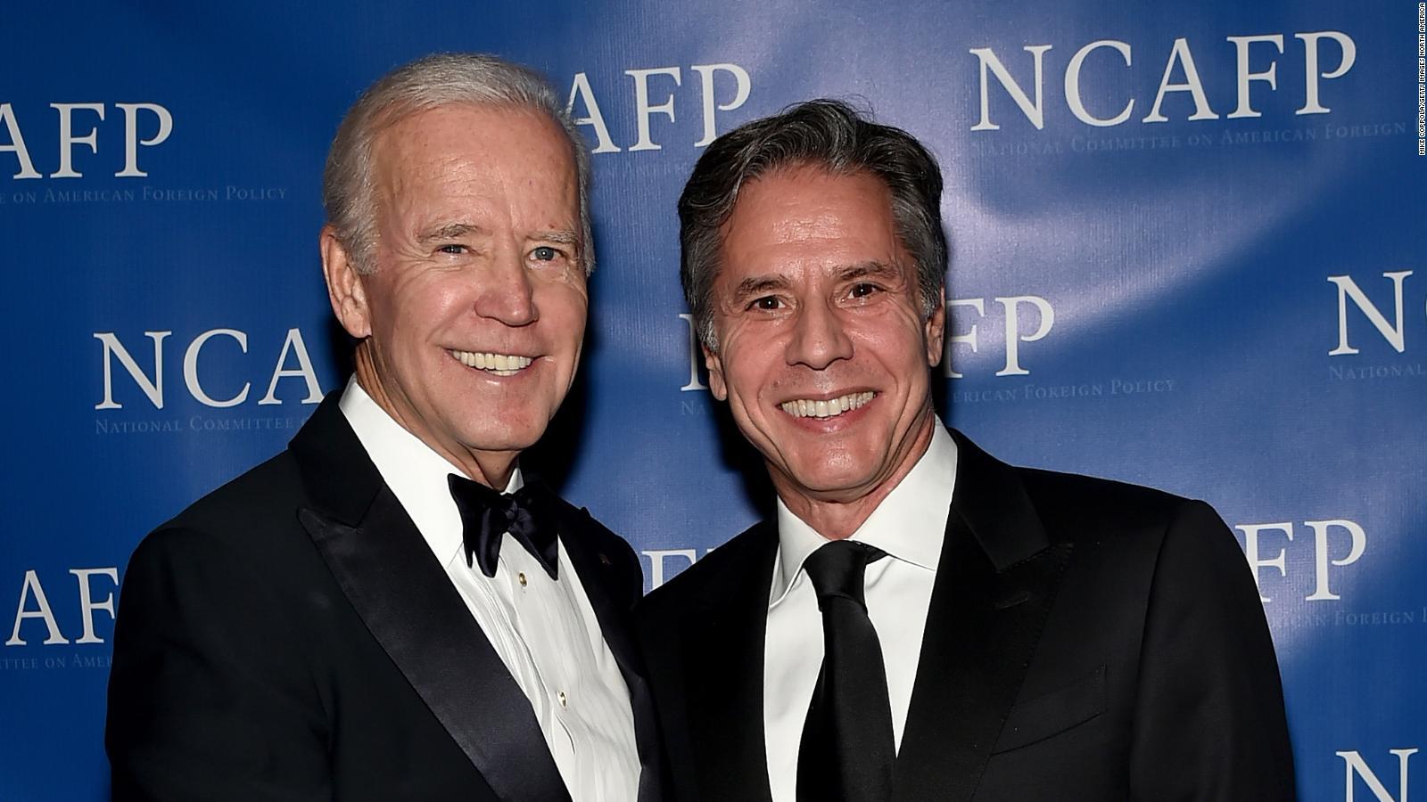 Quién es Antony Blinken, el posible secretario de Estado de Joe Biden? | Video | CNN