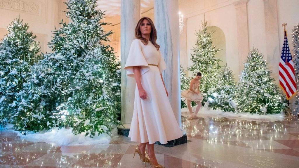 Los planes de Melania Trump para Acción de Gracias en la Casa Blanca no se detienen