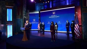 Biden presenta oficialmente a primeros integrantes de su gobierno