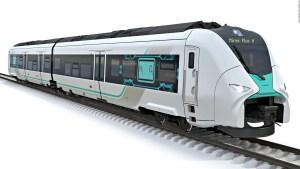 Este tren podría reemplazar las viejas locomotoras diésel
