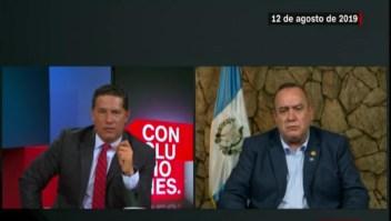 Del Rincón le recuerda al presidente Giammattei la promesa incumplida