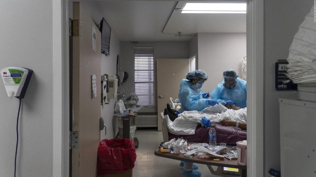 Estas cifras muestran la gravedad de la pandemia en Estados Unidos