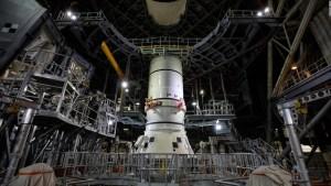 La NASA comenzó a construir cohete para su misión Artemis