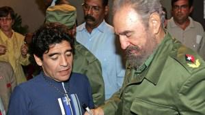 Cuba, la otra casa de Maradona