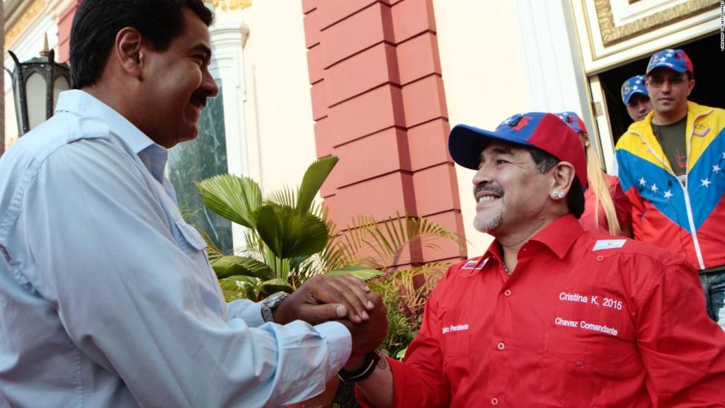 Maduro: Muerte de Maradona es un golpe demoledor