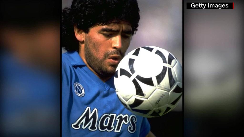Maradona: ventas de su camiseta se disparan