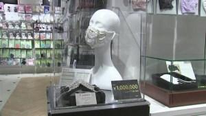 Lujo en mascarillas japonesas contra el covid-19
