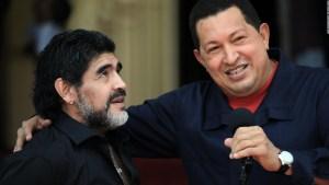 Maradona y su amistad con Castro, Chávez y Maduro