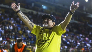 Así fue la relación especial de Maradona con México
