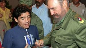 Cinco cosas que quizá no sepas de Maradona