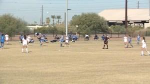Colosal torneo de fútbol en plena pandemia en Arizona