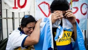 Argentina llora y da un último adiós a Maradona