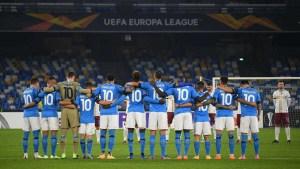 El homenaje del Napoli al 10