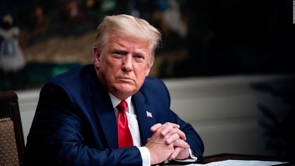 Trump increpa a un periodista por insistir en una pregunta