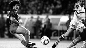 Así fue el minuto de silencio del Barcelona por Maradona
