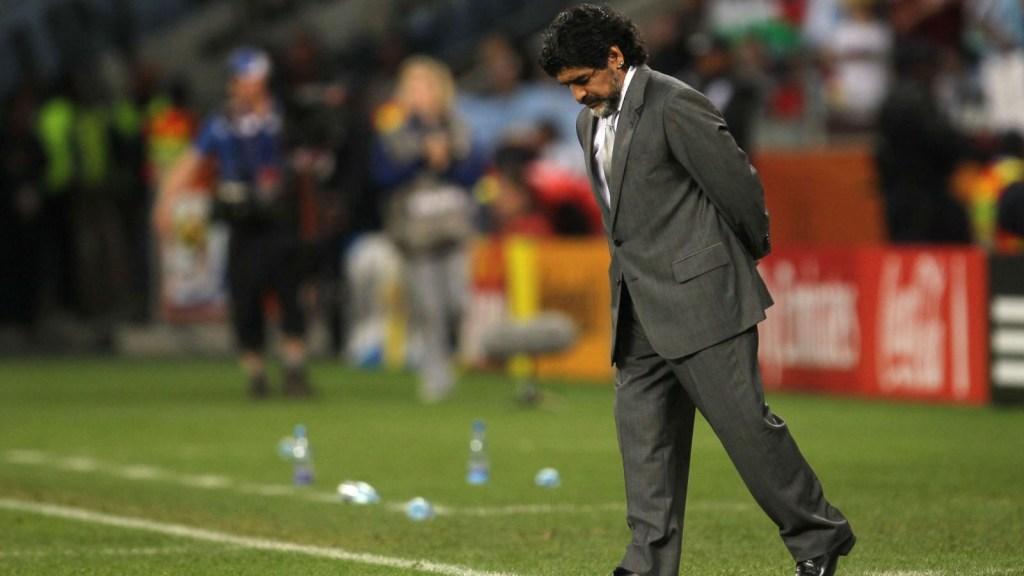 La cruda confesión de Diego Armando Maradona