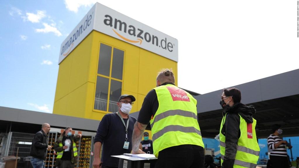 Amazon pagará bonos a sus empleados ante presión sindical