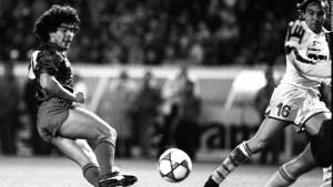 Recuerdan a Maradona sus excompañeros en el FC Barcelona