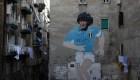 Nápoles muestra su amor a Diego Maradona