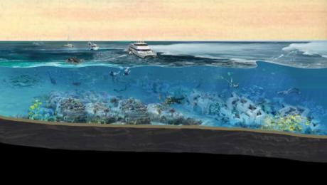 El parque de esculturas submarinas que abrirá en Miami