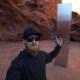 Aventureros se lanzaron a buscar el monolito de Utah