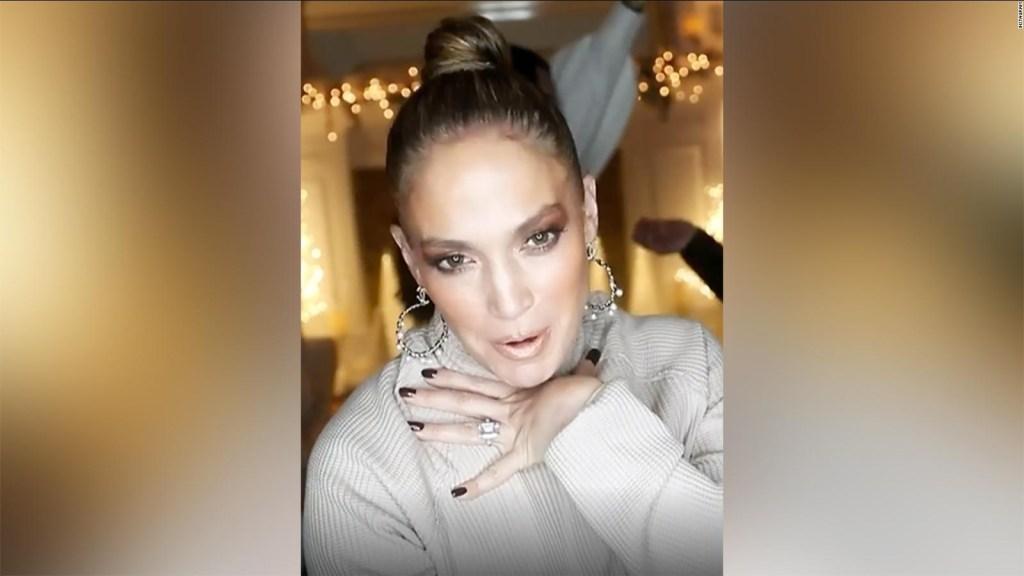 """Jennifer López celebra el lanzamiento de su nueva canción """"In the Morning"""""""