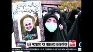 Iraníes piden represalias contra Israel y Estados Unidos