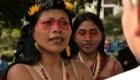 Premian por su acción medioambiental a Nemonte Nenquimo