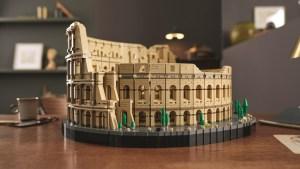 Lego lanza modelo del Coliseo de más de 9.000 piezas