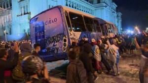 Las imágenes más impactantes de las protestas en Guatemala
