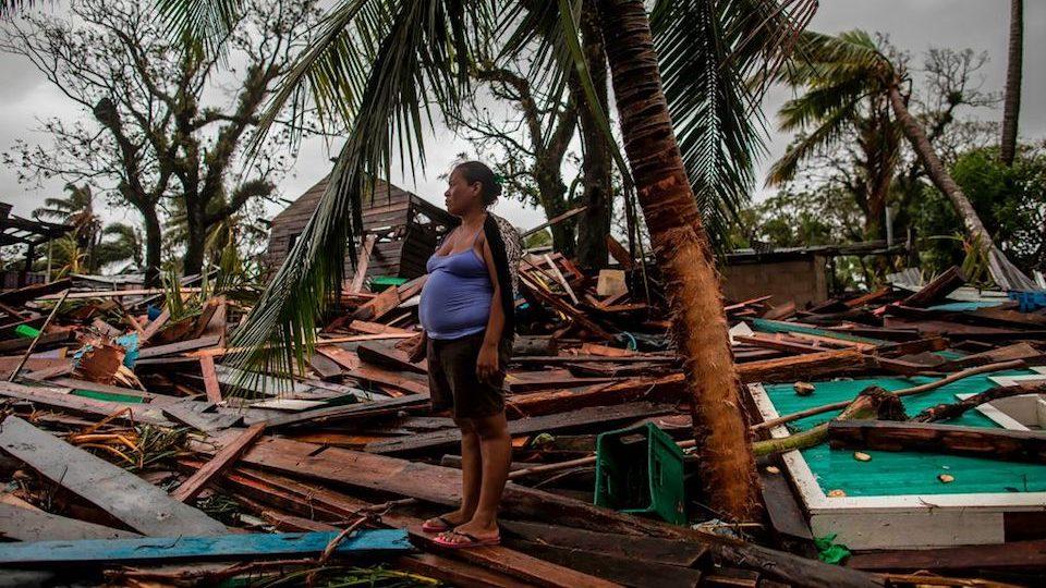 huracán Iota Nicaragua Centroamérica