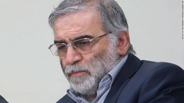 científico nuclear iraní