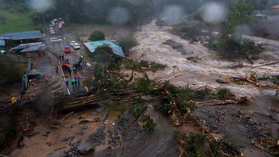 Panamá lluvias Eta