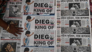 Maradona portadas diarios