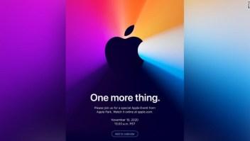 apple evento noviembre 10