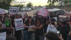 Investigan incidente entre policías y manifestantes feministas en Cancún