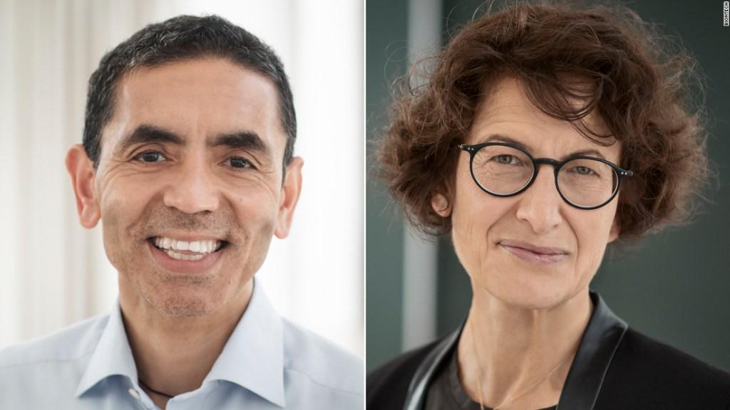 La pareja de científicos detrás de la vacuna Pfizer/BioNTech