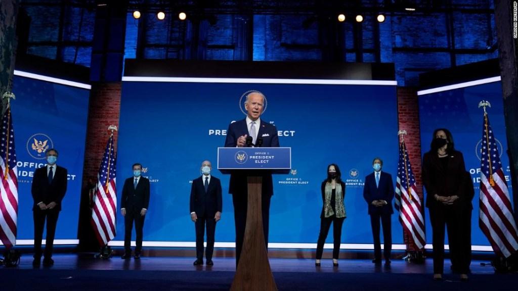 ANÁLISIS   Biden defiende su presidencia anti-Trump