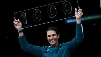 Rafael Nadal se convierte en el cuarto hombre en ganar 1.000 partidos del ATP Tour