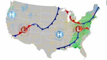 Varios sistemas de tormentas pueden afectar tus planes de Acción de Gracias esta semana