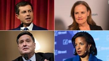 Estos son quiénes podrían ocupar los principales puestos en la administración de Biden